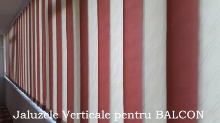 jaluzele verticale pentru balcon