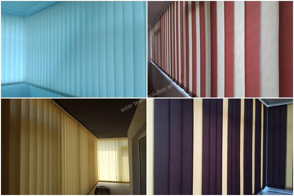 Jaluzele verticale pentru balcon 1