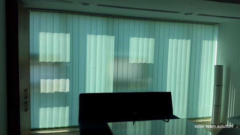 Jaluzele Verticale pentru birou